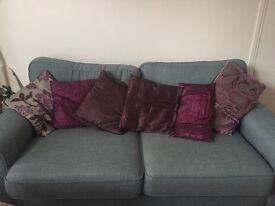 Cushions and covers soft furnishings