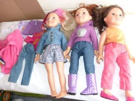 Designer Friend dolls bundle toys
