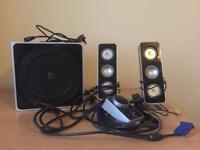 Logitech 24 speaker sound system