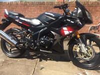 Lexmoto XTRS 125cc ,64reg, black, not Honda,Suzuki,Yamaha or Kawasaki.