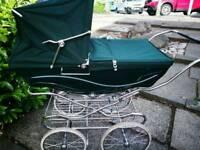 Kensington silver cross baby pram