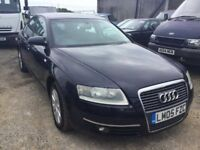 AUTOMATIC LUXURY CAR2005 AUDI A6 IN GOOD ALROUND CONDITION FULLY LOADED CAR DRIVES SUPERB ANY TRIAL