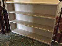 Painted wooden bookcase - reduced!!!