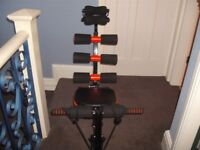 Leg & abs exerciser