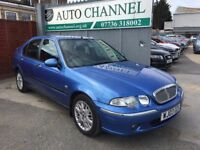 Rover 45 2.0 TD Impression S 5dr£1,495 p/x welcome NEW MOT. FINANCE AVAILABLE