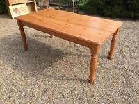 LARGE PINE TABLE w180xd97xh76