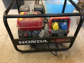 Honda 2.2kw generator