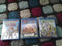 new and sealed blu rays x3 £5