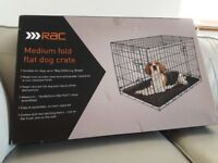 Medium Fold Flat Dog Crate
