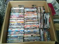 Over 170 DVDs