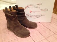 Clarks mink coloured ankle boot. Size 37. New. £20 Ono.