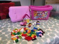 LEGO Pink brick box (set 5585)