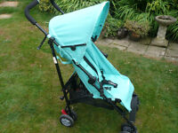 Mothercare nanu stroller pushchair holiday buggy lightweight umbrella fold