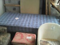 bargain 2ft 6inch, fold flat bed