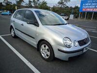 Volkswagen POLO S 2003 Hatchback 1.4 Petrol Auto 5 door Silver 12 Months MOT FULL Service History