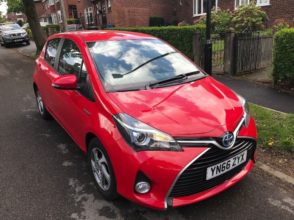 3k In Miles >> Toyota Yaris Hybrid With Only 3k Miles In Mickleover Derbyshire