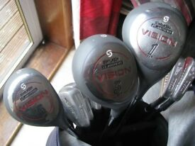 George Nicoll golf club set