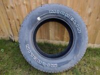 Michelin LTX A/S 255/65 R17 108S M+S Tyre - [Removed From Spare Wheel]