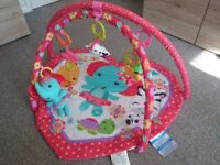 Fisher Price playmat with toys
