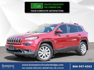 2016 Jeep Cherokee LIMITED 4X4 | TRADE-IN |