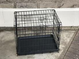 Puppy cage and 2 crates