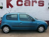 GREAT FIRST CAR 2003 RENAULT CLIO 1.2 EXPRESSION LOW MILES