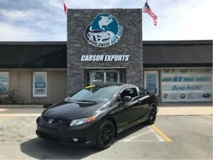 2012 Honda Civic Coupe CLEAN SI! FINANCING AVAILABLE!