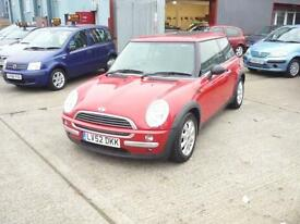 Mini Hatch One One 3dr (red) 2002