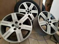 Vw alloy wheels 6.5x16h2 limited edition