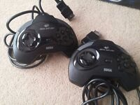 2 x Sega Saturn Controllers original