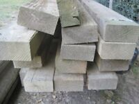 Tanalised timber, some long lengths (6m)
