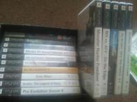 Psp case and games