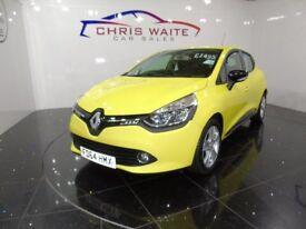 RENAULT CLIO DYNAMIQUE MEDIANAV (yellow) 2014