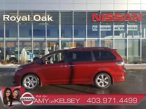 2013 Toyota Sienna SE  ** ONE OWNER, ACCIDENT FREE**