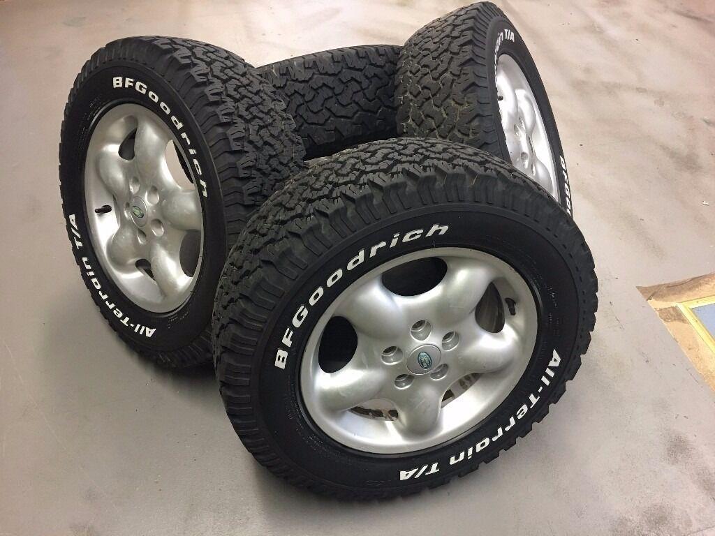 land rover freelander alloy winter off road wheels bf. Black Bedroom Furniture Sets. Home Design Ideas