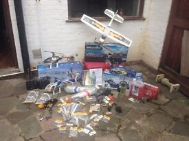 RC bundle great shape helicotters, planes and car