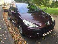 Peugeot 307 1.6 Diesel 2005 5 Door New MOT