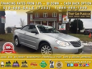 2008 Chrysler Sebring LX-$73/Wk-Convertible Soft Top-AUX/CD/MP3-