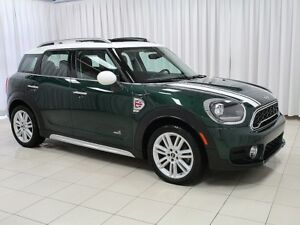 2018 Mini Cooper Countryman S ALL4 TURBO 6-SPEED AWD w/ HEATED L