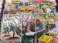 1960's 60's comics DC Jimmy Olsen Superman Superboy DC comics Lois Lane