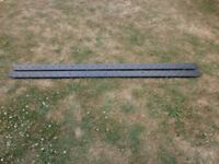 Land Rover 110 Defender chequer plate protector sills