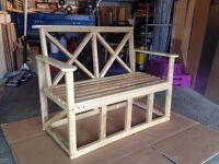 Brand new Garden bench (hand made)