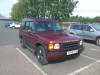 Land Rover Discovery TD5 , 2001, 7 seater , low miledge and use for age, good condition.