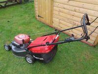 "Petrol lawnmower Mountfield 534sp 21"" cut large collector"