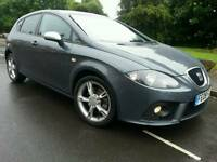 2008 SEAT LEON FR 2.0 TDI 170-BHP*FSH*SUPERB CONDITION*#GOLF#BMW#AUDI#CUPRA