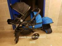 Excellent Icandy peach 3 blossom double pushchair