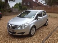 2007 Vauxhall Corsa 1.2i 16V Club 5 door - Very low mileage at 26000 miles!