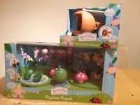 Ben &Holly playtime playset plus wise old elfs helicopter new
