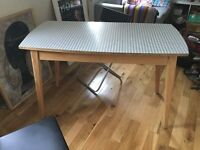 Retro kitchen table with free chairs