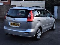 2007 MAZDA 5 TS2 1.8 ( 7 SEATER ) MPV 87000 MILES, LONG MOT, 2 FORMER KEEPERS, HPI CLEAR